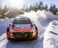 2021 WRC - Arctic Rally Finland - O. Tänak/M. Järveoja  (Photo Nikos Katikis / DPPI)