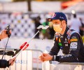 WRC Rally Croatia - Thierry Neuville giving interviews