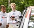 2021 WRC - Rally Estonia - Kalle Rovanperä (right) and codriver Jonne Halttunen (left) - DPPI Media / N. Katikis