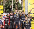 2021 WRC - RallyRACC Catalunya - Final podium