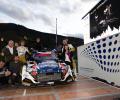 2019 ERT Final - Rallye International du Valais - Winners Ondřej Bisaha / Petr Těšínský