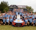 Hyundai Mobis Shell World Rally Team in Coffs Harbour, Australia