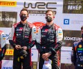 2021 Rally Croatia - Final Podium - Seb Ogier & Julien Ingrassia