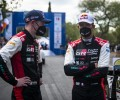 Sébastien Ogier and Elfyn Evans at the 2021  Acropolis Rally Greece (Red Bull Content Pool / Jaanus Ree)
