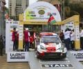 2021 Safari Rally Kenya - Ceremonial Start - Ogier/Ingrassia (photo TGR)