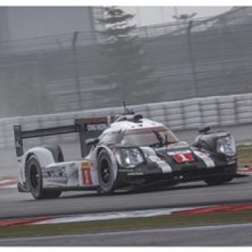 At the checkered flag it was no1 Porsche 919 with the fastest lap after @mark_webber_officle set a 1m41.002, just 0.005s slower than the best time set in day 1.  #WEC #Endurance #6hNurburgring #Porsche #motorsport #Germany #Nurburgring