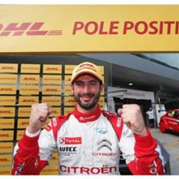 #WTCC José María López @pechito37 has claimed his seventh DHL pole position of 2016 after he topped the timesheets at  @fia_wtcc Race of China this afternoon. In doing so, the Argentine scored the points needed for Citroën to provisionally clinch the FIA World Touring Car Championship for Manufacturers for a third year running*. #racing #mortorsport #china #race