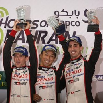 #WEC - The #6HBahrain 🇧🇭 concluded with the @toyotamotorsportgmbh of @sebastien_buemi , Anthony Davidson & Kazuki Nakajima taking the victory in front of the @porsche n2 #Motorsport #Racing