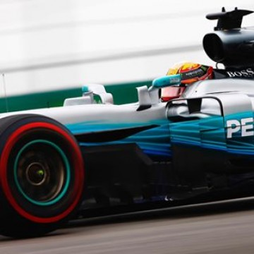 #F1- @lewishamilton (@mercedesamgf1) set out the best time of the 1st free practice session of the #USGP 🇺🇸 #Motorsport #Racing