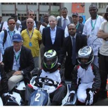 "#RoadSafety - #Ethiopia has been selected as the country that will run the pilot programs for the ""Slalom Karting"" project in Africa and this morning, a demonstration of the sport was put on, watched by participants in the second #FIA Africa Sport Regional Congress  #FIA #President #Karting #ASRC"