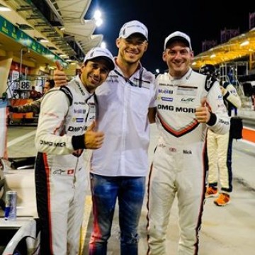 #WEC - @porsche claimed a fifth pole position of the season at the #6HBahrain 🇧🇭 with the 919 Hybrid of @neeljani_official & Nick Tandy posting the fastest average lap time of the session #Motorsport #Racing