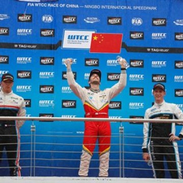 #WTCC - @e_guerrieri was the star performer at @fia_wtcc Race of China 🇨🇳 with a virtuoso performance in the Opening Race, before the heavy rain forced the Main Race to be stopped on the 4th Lap #Motorsport #Racing