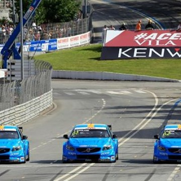 #WTCC Team @cyanracing claimed a comfortable win over Team Honda in the Manufacturers Against the Clock team time trial on the spectacular Vila Real street track this afternoon, venue of Portugal's @fia_wtcc counter #TouringCar #MAC3 #motorsport