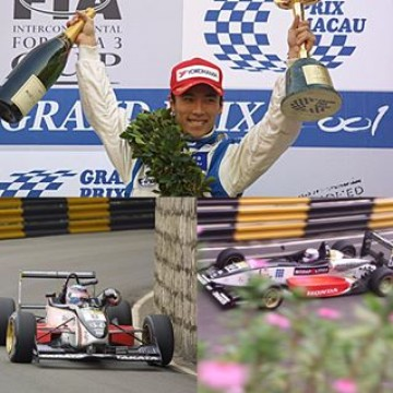 #FIAF3WorldCup Takuma Sato won the #MacauGP in 2001 in his second participation to the event after the retirement in the main race of the previous year. 2001 was a magic season in Sato's career: he also triumphed in the #BritishF3 Championship and won the #F3Masters. One year later he started his path in #F1 where he competed in 90 Grands Prix until the first half of 2008, always in car powered by a #Honda engine: his best result was a 3rd place in the 2004 #USGP. Since 2010 he races in Indycar but also drove once in @fiaformulae (#BeijingePrix 2014/15). #Takuma #Sato #motorsport #Macau #racing