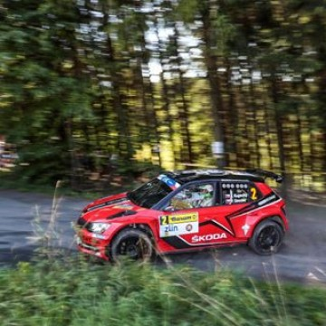 #ERC Jan Kopecky leads @lukyanuk by just half a second in a thrilling battle going into the final day of Barum Czech Rally Zlìn, whilst @fiaerc leader @kajto_pl was unable to complete the opening leg #rally #BarumRally #Czech #Zlin #Jan #Kopecky #motorsport