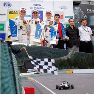 #FIAF3 17-year-old @lance_stroll (@prema_team) remained unfazed by the initially heavy rain at the 7.004 kilometres long Spa-Francorchamps circuit and won the 19th race of the @fiaf3europe Championship season. At the 7.004 kilometres long Formula 1 circuit of Spa-Francorchamps, @georgerussell63 (HitechGP) scored his second win of the season #f3 #formula3 #SpaFrancorchamps #Lance #Stroll #George #Russell #motorsport