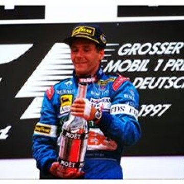 #F1 #OnThisDay in 1997 #GerhardBerger won the #GermanGP. This was the 10th and last win in the Austrian driver's career, the 2nd in a row at the #Hockenheim #circuit. On that day #Berger collected also his second hat-trick (pole position, win and race fastest lap), the 1st dating back to ten year before in the #AustralianGP. Berger raced a total of 210 Grands Prix from 1984 to 1997. #Formula1 #FormulaOne #Motorsport #Racing #Germany #Benetton #Flashback #Throwback