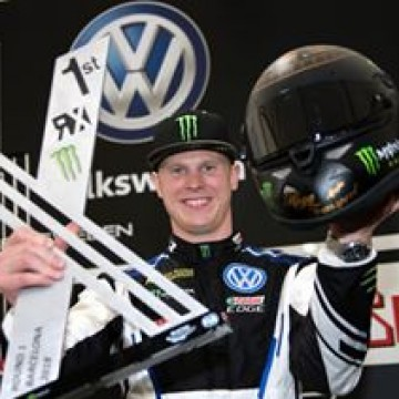 #WorldRX - @kristofferssonjohan claimed dramatic victory in World RX of Barcelona-Catalunya @catalunyarx, the first round of the @fiaworldrx championship #motorsport #racing