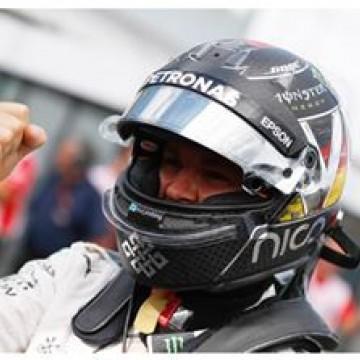 #F1 @nicorosberg takes #GermanGP pole  #f1 #formulaone #formula1 #Nico #Rosberg #Mercedes #Germany #Hockenheim #pole #motorsport